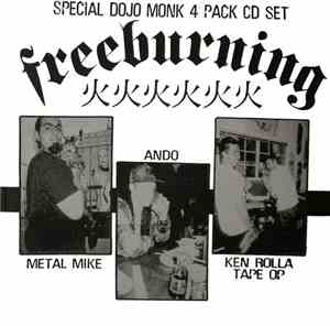 Ando / Tape Op / Metal Mike  / Ken Rolla - Special Dojo Monk 4 Pack Cd Set