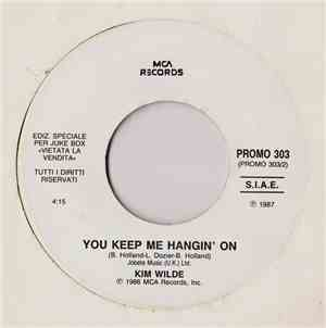 Kim Wilde / Bee Gees - You Keep Me Hangin' On / You Win Again