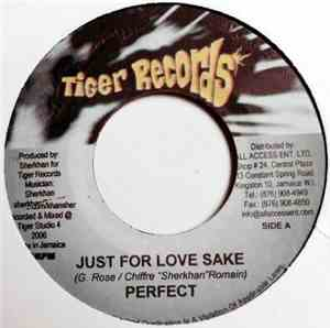 Perfect  / Diana Rutherford - Just For Love Sake / Selfish Love