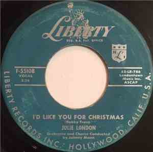 Julie London - I'd Like You For Christmas