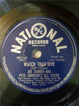 Joe Turner With Pete Johnson's All Stars - Watch That Jive / Johnson & Turn ...